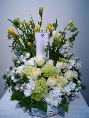 供花・お供えのフラワーアレンジメント 東京都23区送料無料