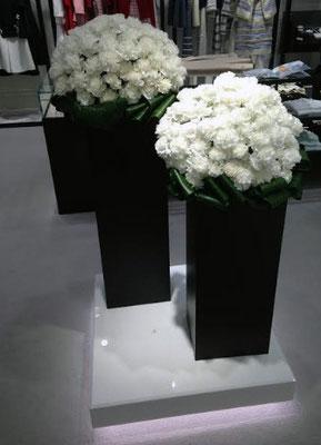 店舗内 装花