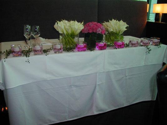 ブライダル 装花