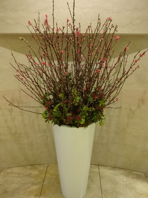 ホテル 玄関 装花