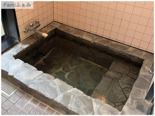 松原温泉の家族風呂浴槽