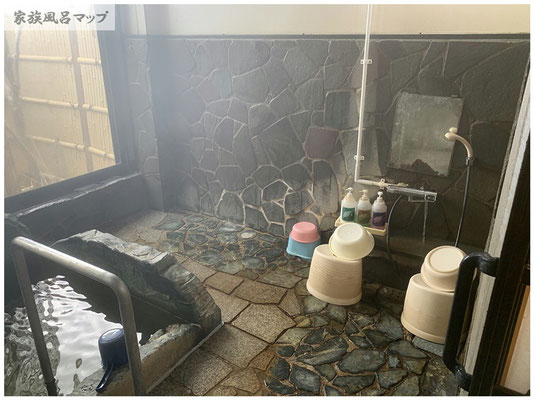 大川昇開橋温泉風呂場