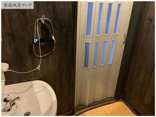 鏡山温泉室内