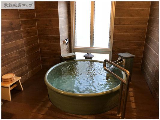 万葉の湯浴槽