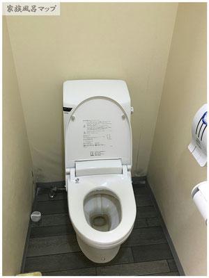 大川昇開橋温泉トイレ
