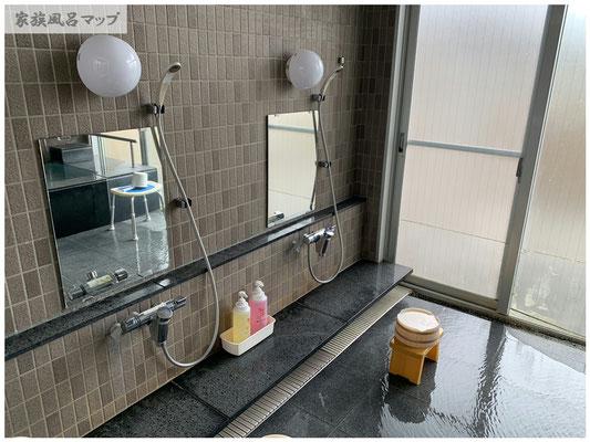 きららの湯シャワー