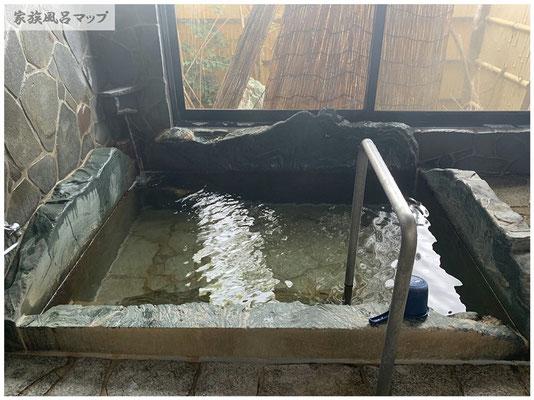 大川昇開橋温泉浴槽