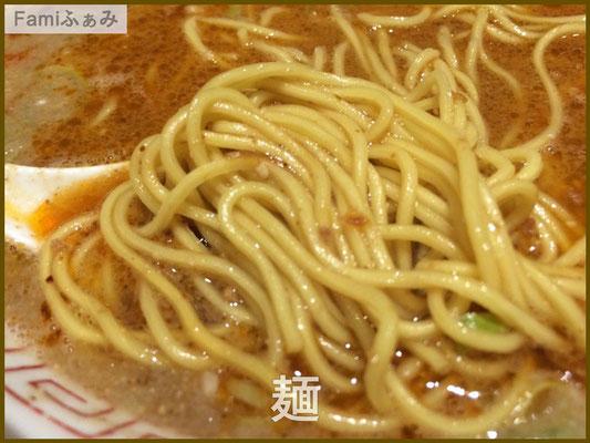 ラータンメンの麺