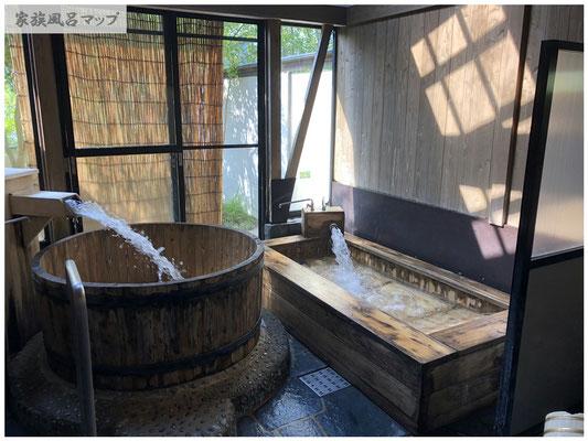 脇田温泉 楠水閣浴槽