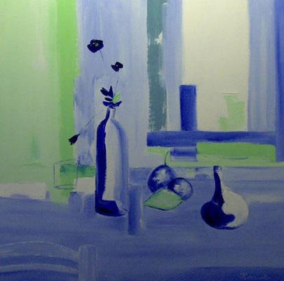 Composition bleue (huile 80x80)