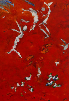 Composition Abstraite n 85 (huile130x89)