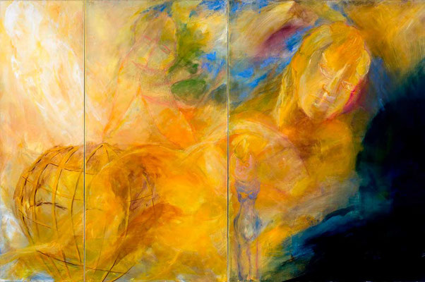 Triptychon 3 -Eva-ihre-Töchter