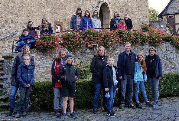 Die Teilnehmerinnen und Teilnehmer der NABU-Familienfreizeit