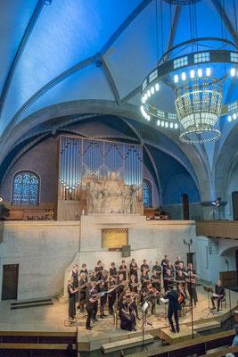 """BernChor21 am Konzert """"liebelieder"""" vom 9. Juni 2018 (Foto: Gisela Basler und Armin Schneiter)"""