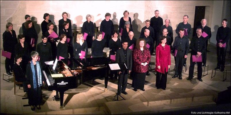 Bernchor21 am Konzert im Jahr 2007