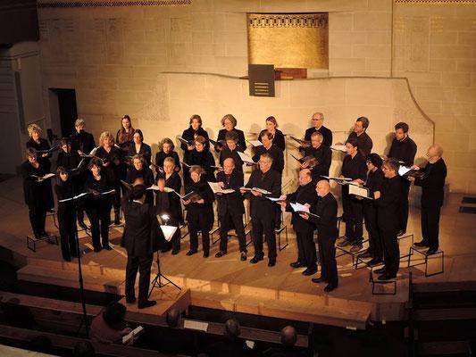 "Bernchor21 am Konzert ""english style"" vom 24. Januar 2015 in der Pauluskirche Bern. (Foto: Katharina Hirt)"