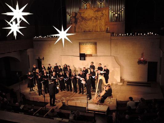 "Bernchor21 am Konzert ""noël"" vom 28. November 2015 in der Pauluskirche Bern (Foto: Katharina Hirt)"