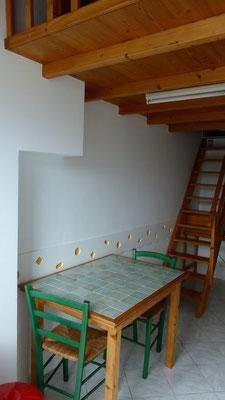 Pièce principale - Table
