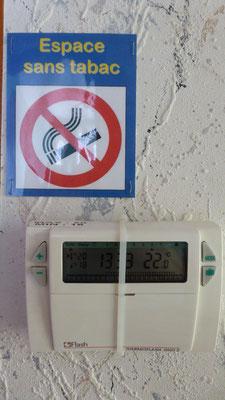 Thermostat électronique pour régulation du chauffage