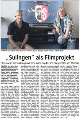 02. August 2016 | Sulinger Kreiszeitung