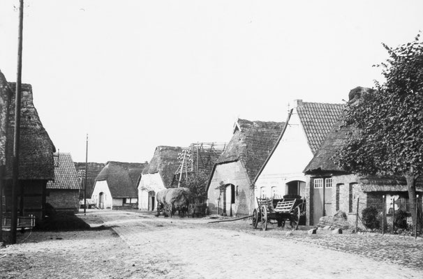 Diepholzer Straße zu Anfang des vergangenen Jahrhunderts