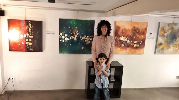 Con mio figlio e le mie opere