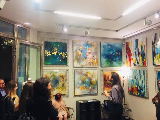 Le mie opere alla galleria area Contesa 2019