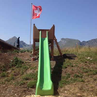 Spielplatz bei der Bergstation