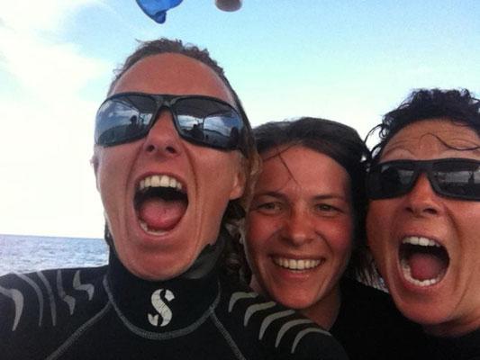équipe plongée nature à porto vecchio
