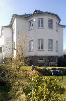 Ferienhaus XXL Deutschland - Blick vom unteren Garten 1