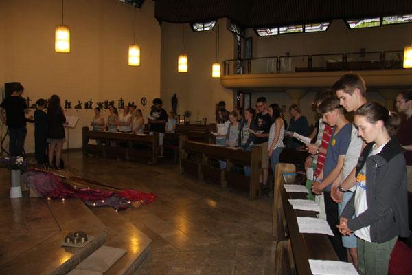 Jugendgottesdienst in St. Josef in Stade