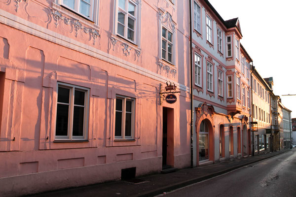 Abendstimmung in Eichstätt, Bayern. Foto: Achim Graf