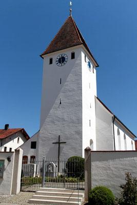 St. Andreas in Kaldorf, Landkreis Eichstätt, Bayern. Foto: Achim Graf