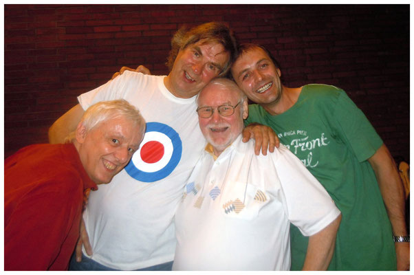 Helmut, Alfred, Woogie und Valentin