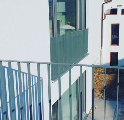 Französicher Balkon und Flachstahlgeländer