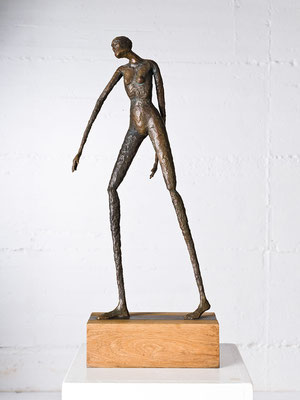 """Auf dem Weg"" Bronze/Unikat"