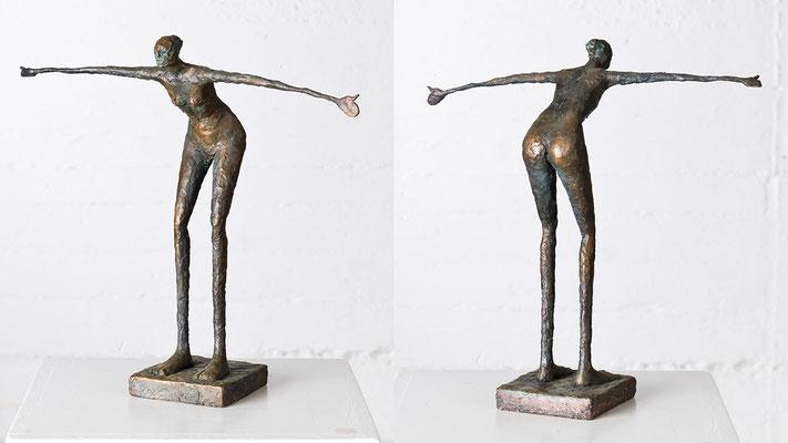 """""""Sie will fliegen"""" Bronze/Unikat"""