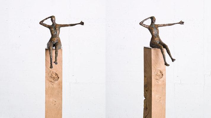 """""""Aus dem Gleichgewicht"""" Bronze /Unikat"""