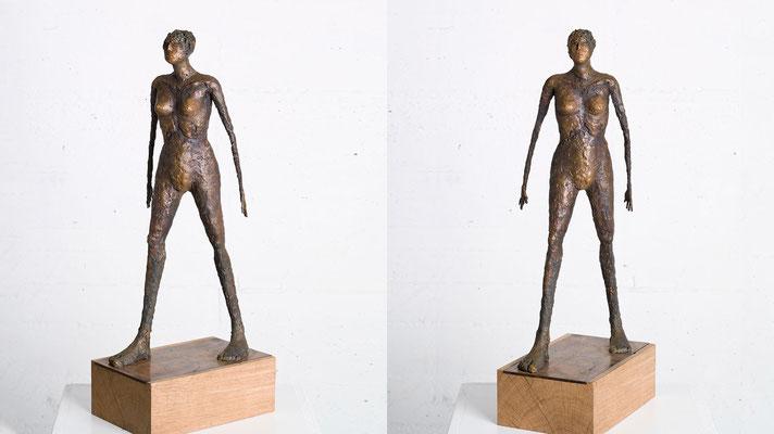 """""""Nach vorne"""" Bronze/Unikat"""