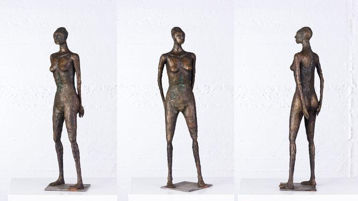 """Fordernd"" Bronze/Unikat"