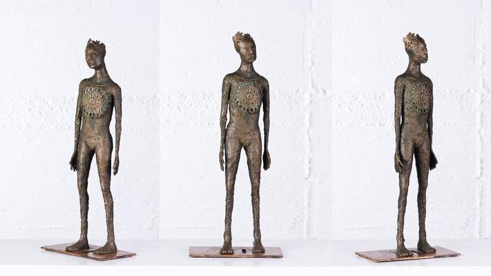 """""""Kleine Königin"""" Bronze/Unikat"""