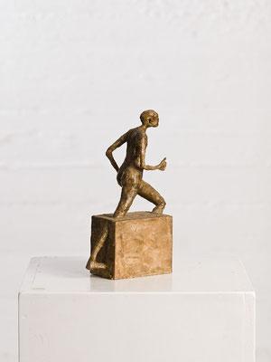 """""""Läufer"""" Wachsmodel für Bronzeguss"""