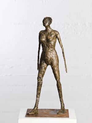 """""""Nach vorne"""" Wachsmodell für Bronzeguss"""