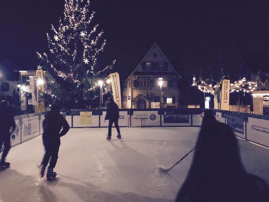 Eishockey auf der Eisbahn 16/17