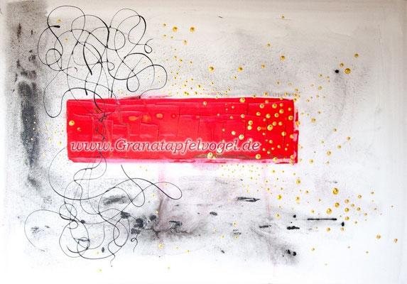 music in blood .. Musik im Blut .. Acryl auf Leinwand .. 70 x 100