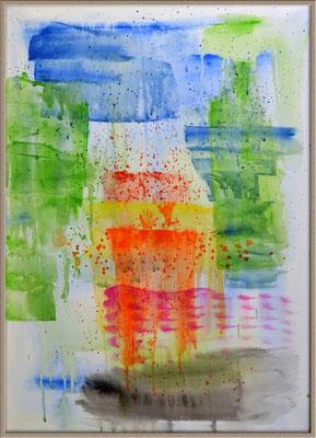 Hüllen .. Acryl auf Leinwand .. 50 x 70