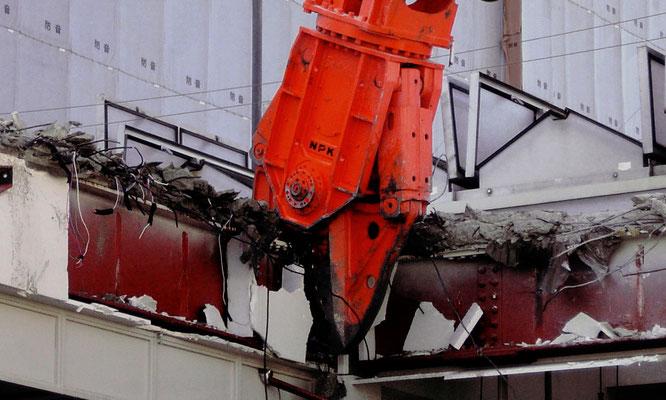 NPK attachment, Steel Shear, K-24X, Construction