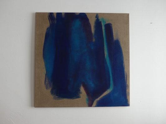 Gedankenfarben VII., 80 x 80 cm, 2015
