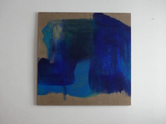 Gedankenfarben VI., 80 x 80 cm, 2015
