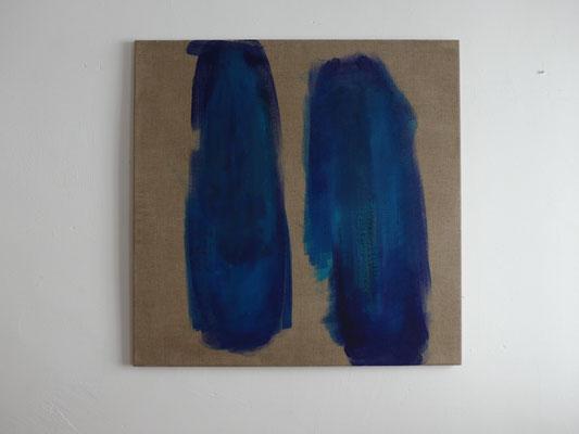 Gedankenfarben V., 80 x 80 cm, 2015